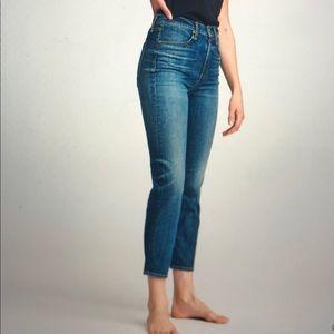 NWT Rag & Bone Nina High Rise Ankle Cigarette Jean